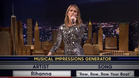 Celine Dion on Tonight Show