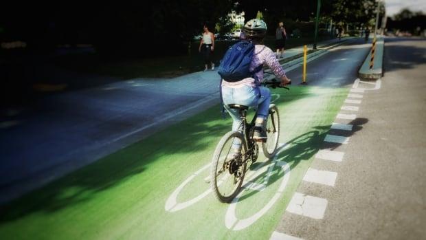 Fahrradwege in Vancouver - deutlicher kennzeichnen geht nun wirklich nicht