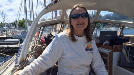 British woman preparing in Victoria for record-setting global sail