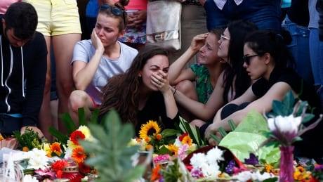 Mall shooting in Munich