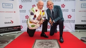 Don Cherry, Ron MacLean see names unveiled on Canada's Walk of Fame