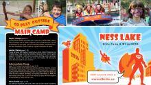 Ness Lake Bible Camp brochure