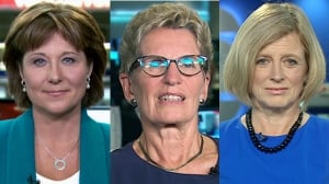 Clinton nomination a 'good start,' but politics still rife with sexism, Canada's female premiers say