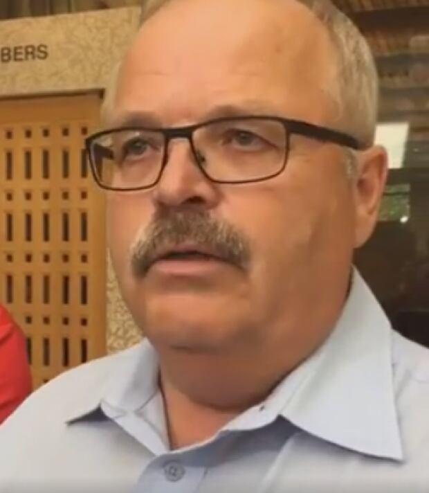 Prince Albert mayor Greg Dionne July 2016
