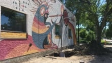 Jackson Beardy mural