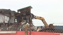 Pleasantville building demolition July 25, 2016