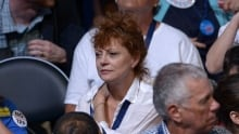 Susan Sarandon at the DNC