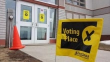Voting Place in P.E.I. Provincial Election