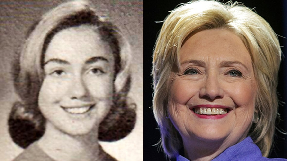 'She Had A Strong Drive': How High School Made Hillary