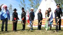 Groundbreaking Tsuut'ina police