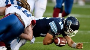 Argos QB Ricky Ray to miss 3-6 weeks with sprained left knee