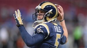 NFL notebook: L.A. Rams release quarterback Nick Foles