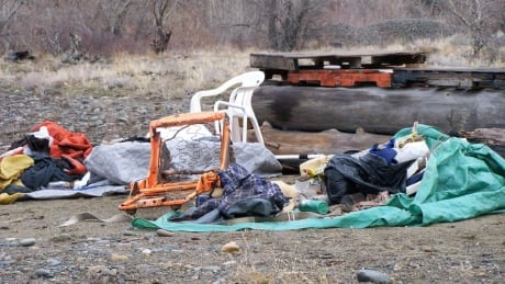 Keremeos mayor wants province to stop campers who are leaving trash, human waste on riverbed