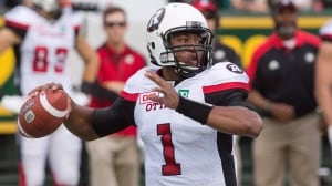 Henry Burris back as QB for Redblacks on Sunday
