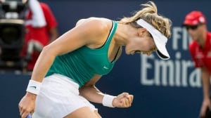 Rogers Cup: Eugenie Bouchard crushes Dominika Cibulkova, advances to 3rd round