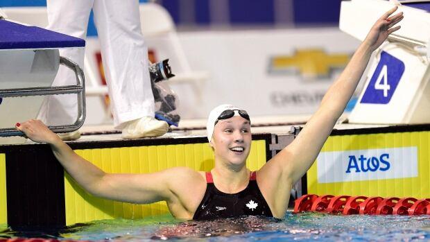 Winnipeg swimmer Chantal Van Landeghem competes in 50 ...