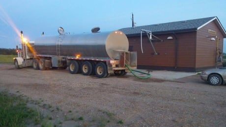 tanker at muskoday