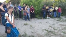 river gathering