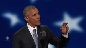 U.S. President Barack Obama's full convention speech