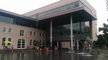 Guelph city hall splash pad
