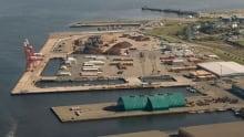 Port Saint John's west side terminal