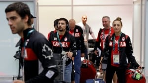 Rio Olympics Canadian delegation arrives in Rio July 28