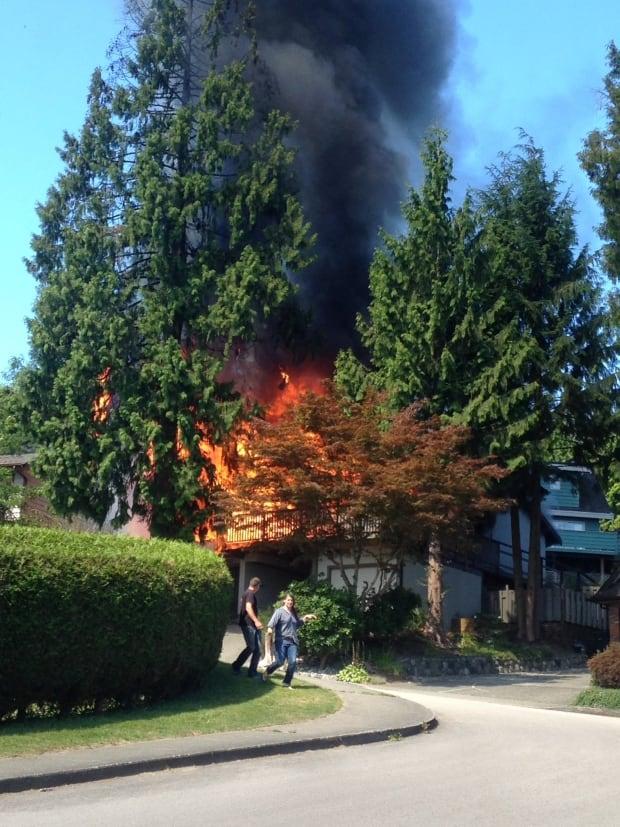 Coquitlam fire Wickham Drive