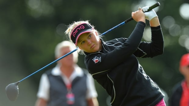 Ko well down the field at British Open