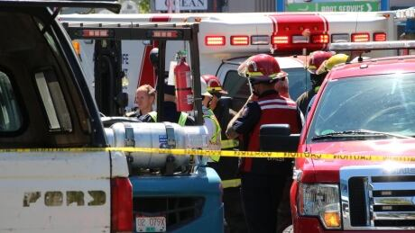 1 dead after SUV crashes into Granville Island store