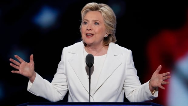 U.S. Democratic presidential nominee Hillary Clinton took to the stage Thursday night at the Democratic National Convention in Philadelphia, making a speech billed as the most important in her political life.