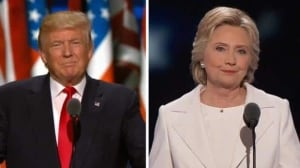 Trump vs. Clinton: highlights from their acceptance speeches