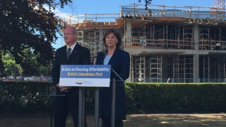 B.C. Premier Christy Clark takes big risk with turnaround on home tax