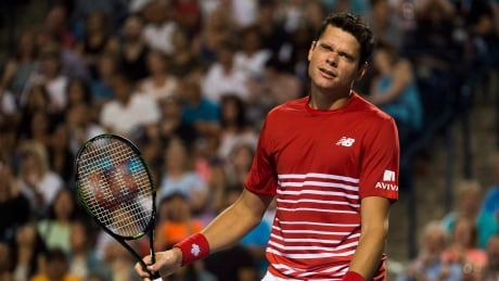 Milos Raonic knocked out of Rogers Cup by Gael Monfils