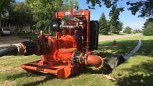 Prince Albert water shortage pump oil spill