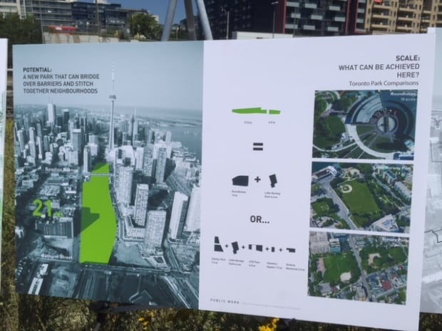 Designs for downtown park