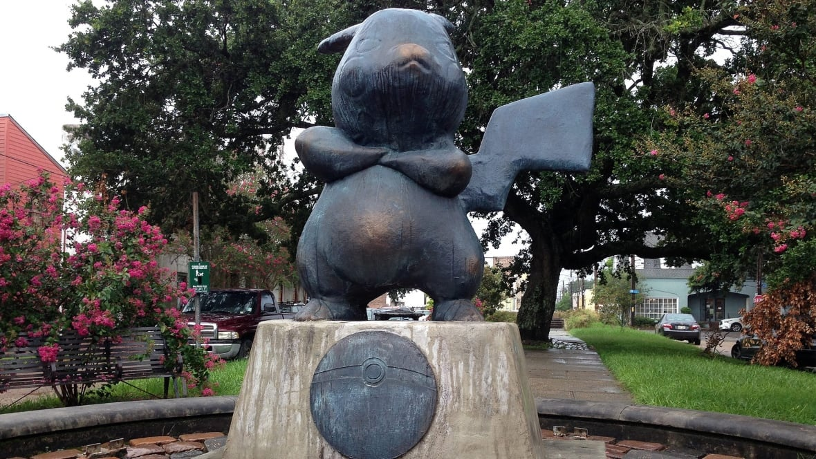 how to make a pokemon statue