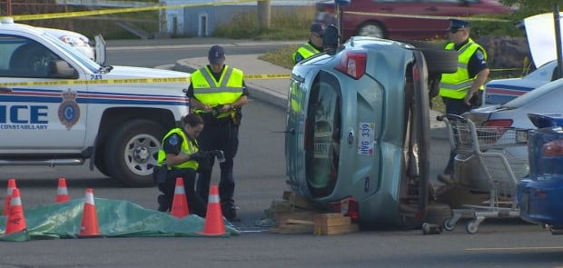 Fatal accident Blackmarsh Road Dominion