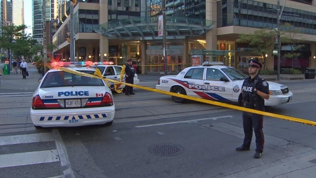 Involved shooting closes Dundas West and Bay Street