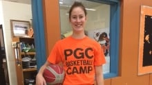 Emma Duinker played professional basketball in Germany.