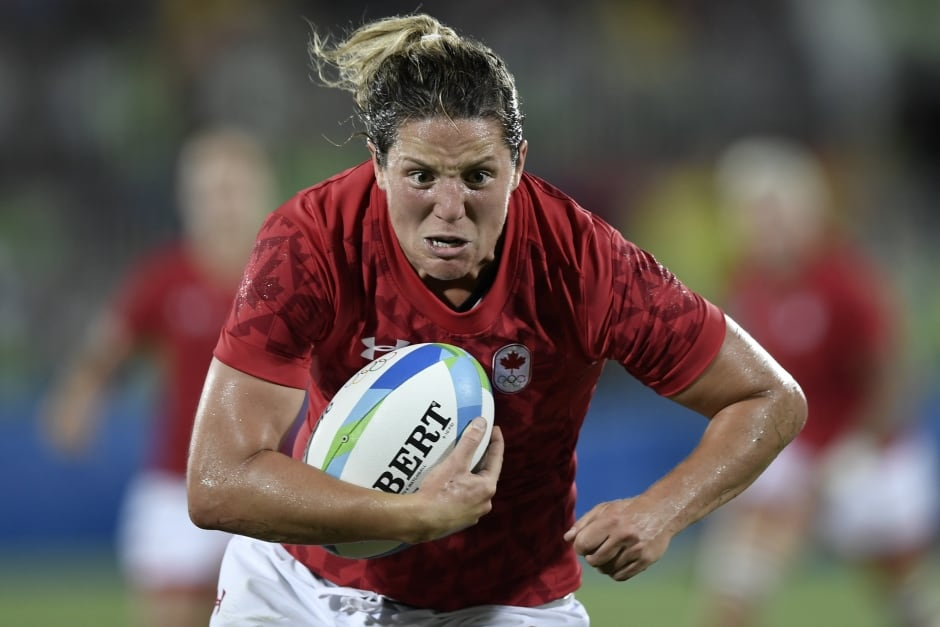 Canada S Rugby 7s Squad Swimmer Kylie Masse In Our Top