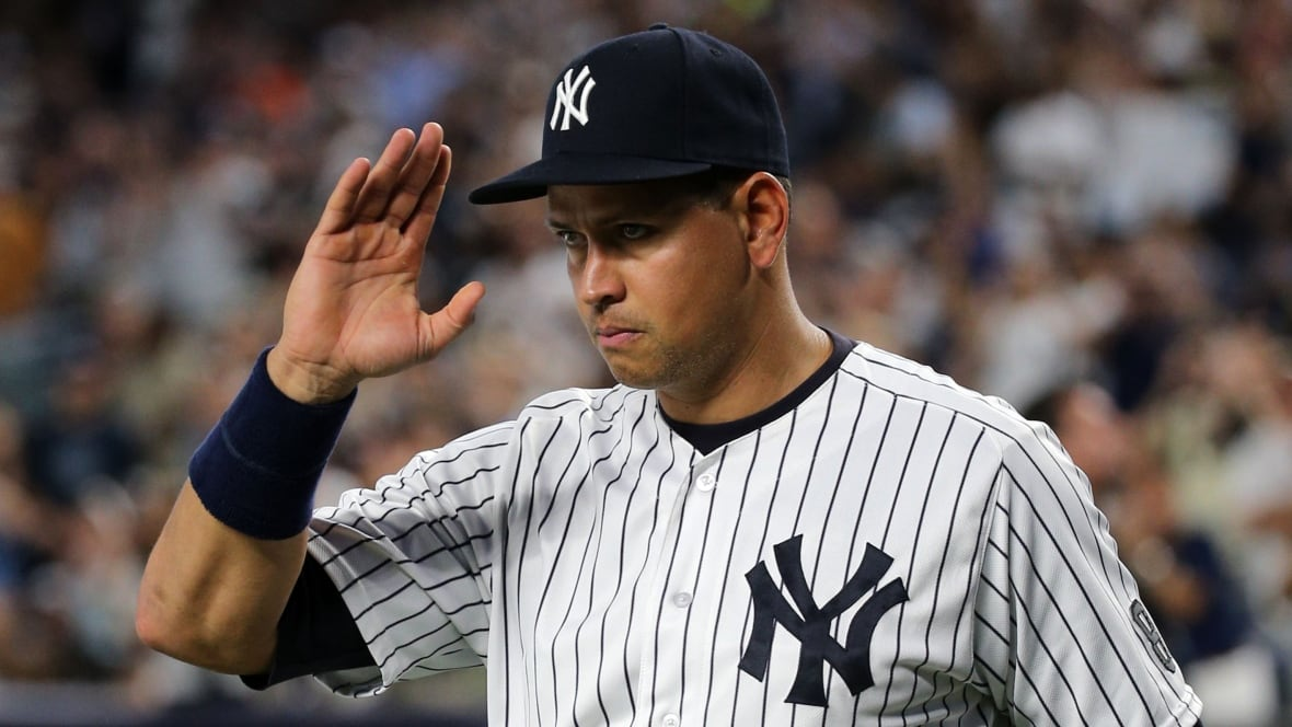 Alex Rodriguez Doubles Plays 3rd In New York Yankees