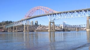 Pattullo Bridge reopens Monday after 4 months of work on busy crossing