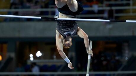 OLYMPICS-RIO-ATHLETICS-M-POLEVAULT Shawn Barber