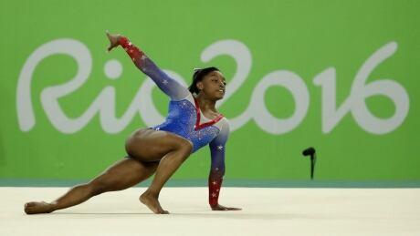 Simone Biles Rio floor