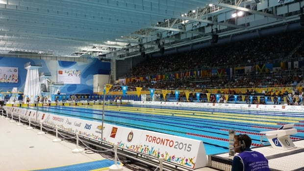 Competitive swimmers plead for new olympic pool in ottawa ottawa cbc news for Swimming pools in london ontario