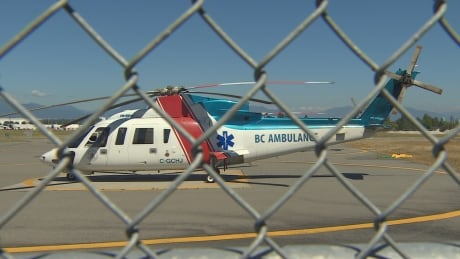 Air ambulance service to 2 major B.C. hospitals still out as service restored to 4 others
