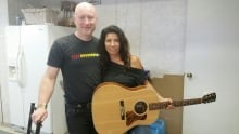 Sky-Anne Hovorka guitar