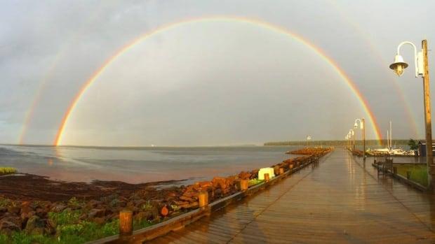 Rainbow Northport Pier photo