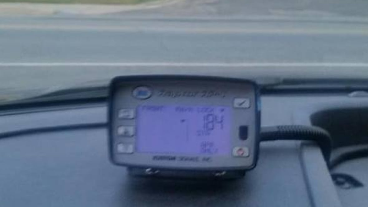 Woodstock police clock man going 184 kilometres an hour - CBC.ca