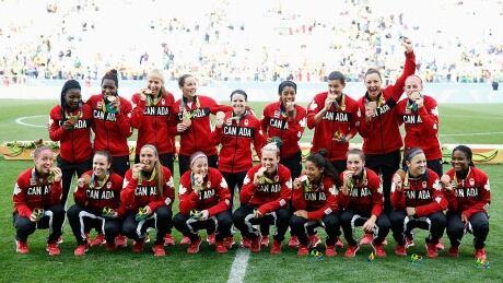 Canada Women's Soccer Bronze